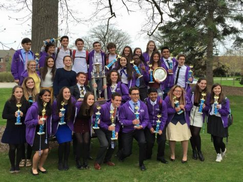 Bloomfield Hills High School Forensics team wins the state tournament