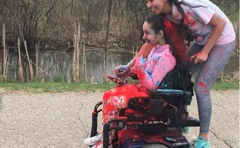 National Honor Society organizes charity Color Run