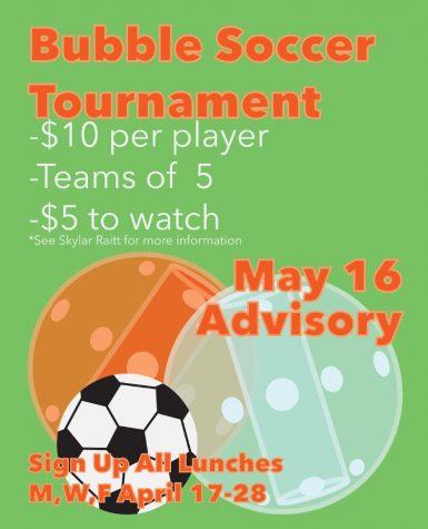Bubble Soccer Fundraiser Event