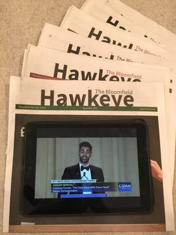 What The Hawkeye can learn from Minhaj's Monologue