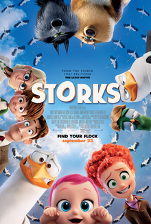 Storming in with the Storks