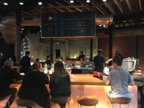 "Starbucks Reserve beats out the ""generic"" Starbucks"