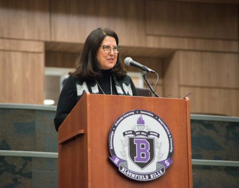 Special Board Meeting to Dedicate BHHS Main Commons