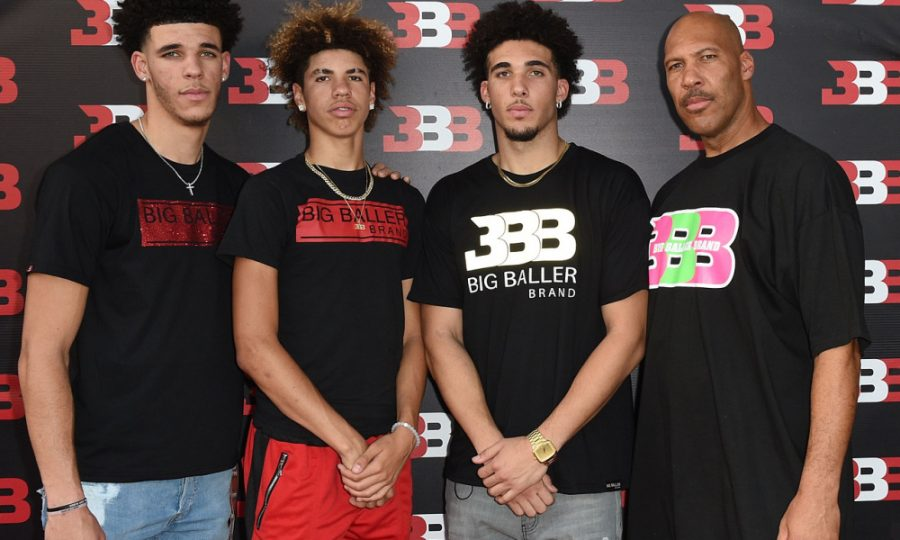 CHINO%2C+CA+-+SEPTEMBER+02%3A++%28L-R%29+Lonzo+Ball%2C+LaMelo+Ball%2C+LiAngelo+Ball+and+LaVar+Ball+attend+Melo+Ball%27s+16th+Birthday+on+September+2%2C+2017+in+Chino%2C+California.++%28Photo+by+Joshua+Blanchard%2FGetty+Images+for+Crosswalk+Productions+%29