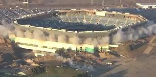 Pontiac Silverdome Finally Falls