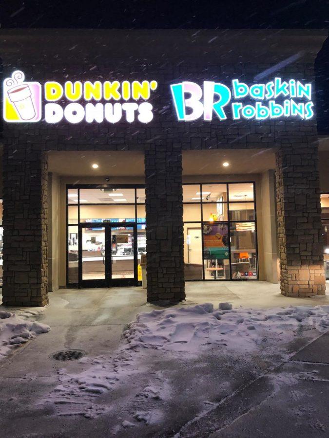 New Baskin Robbins/ Dunkin' Donuts - The Perfect Dessert Destination