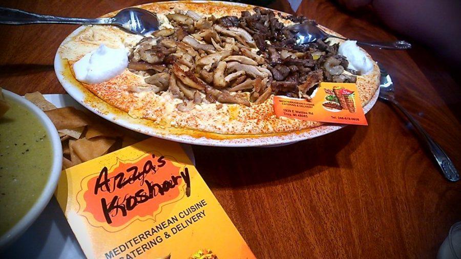 Meal at Azza's Koshary
