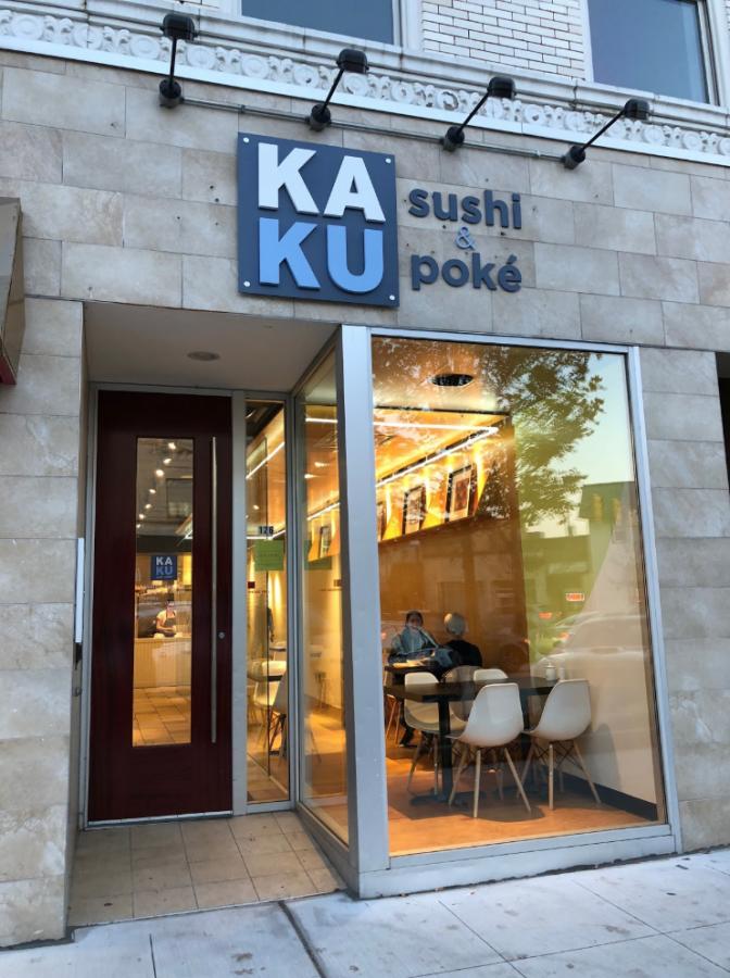 Kaku susi and poké in Birmingham