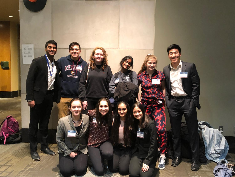 Seniors+Thanasi+Michalakis%2C+Maddy+Moskus%2C+Samhita+Surapaneni%2C+Forest+Zhang%2C+Brooklin+Bekolay%2C+Sarah+Kenkel%2C+juniors+Jenny+She%2C+Kushal+Sanjeev%2C+Katie+Heath%2C+Mahee+Doshi%2C+and+sophomores+Ariana+Riegle%2C+Olivia+Bronstein+competing+at+the+HOSA+State+Leadership+Conference.+At+the+competition%2C+Kushal+Sanjeev+and+Jenny+She+both+placed+1st%2C+Brooklin+Bekolay+placed+4th%2C+and+Thanasi+Michalakis+placed+6th.