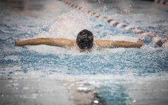 Boys' Swim Team Wins League Championships
