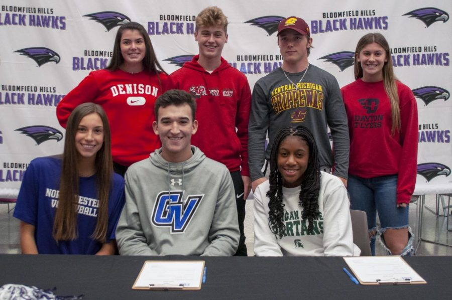 Signing day for BHHS athletes