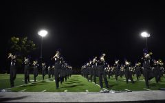 Marching band finishes season