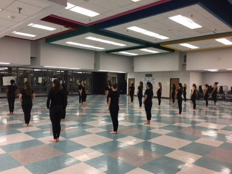Bloomfield Winterguard has their first competition of the year