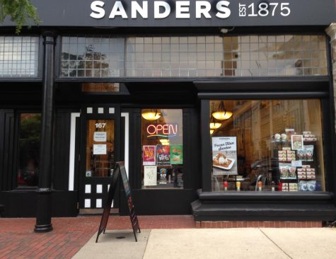Sanders Chocolate and Ice Cream Shoppe Review