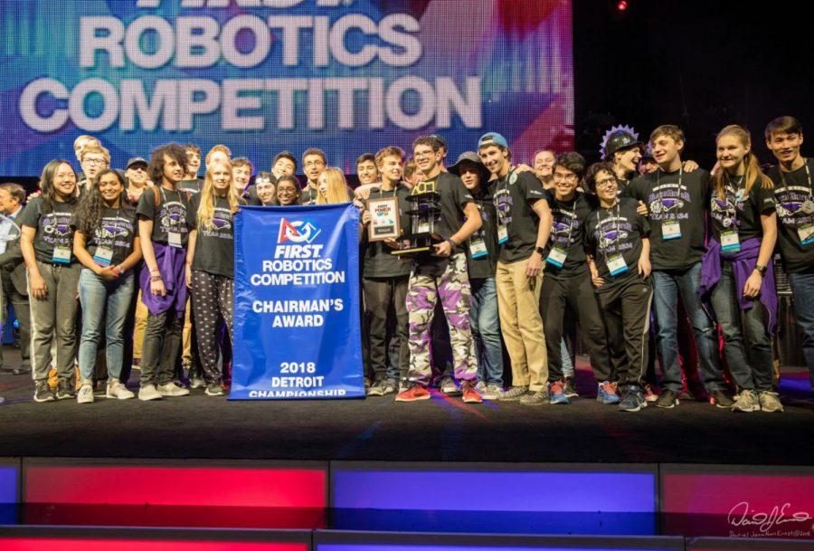 Bionic Blackhawks win Chairmans Award at world tournament