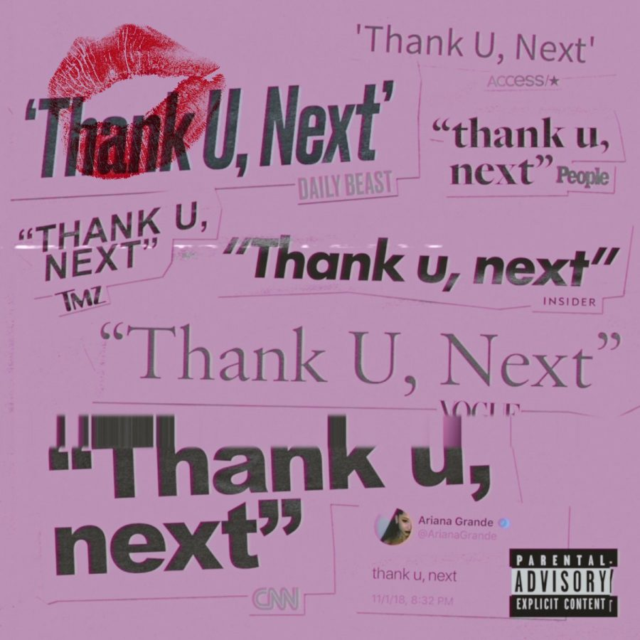 Thank U, Next album cover