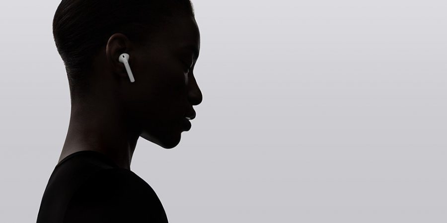 AirPods: Wireless Bluetooth earbuds released by Apple in December 2016