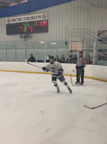 Boys Hockey Moves on in Playoffs