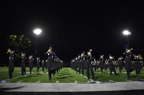 Marching band finishes season