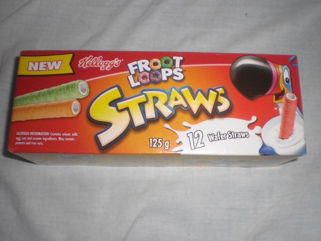 Froot Loop straws return